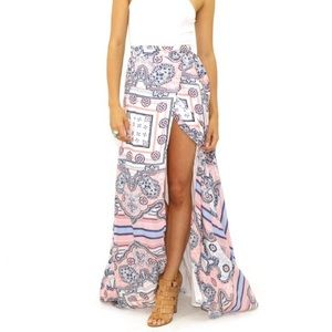 ❌SOLD❌ The Jet Set Diaries Maxi Skirt